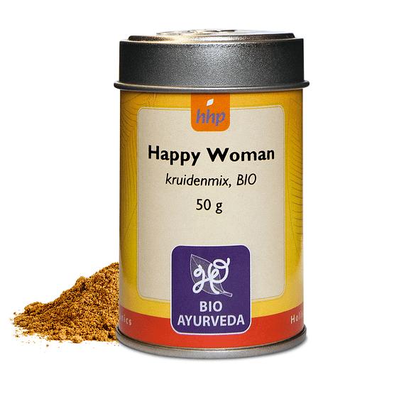 yogayur.nl-happy-woman-kruidenmix-bio-50g